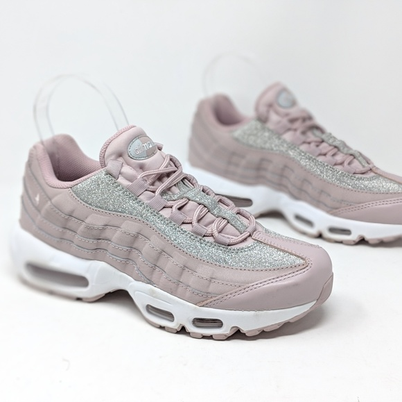 Womens Nike Air Max 95 SE Glitter Particle Rose NWT